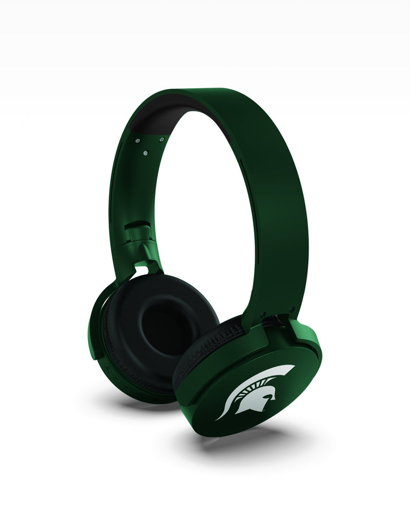 Michigan State Spartans Wireless DJ Headphones - Prime Brands Group