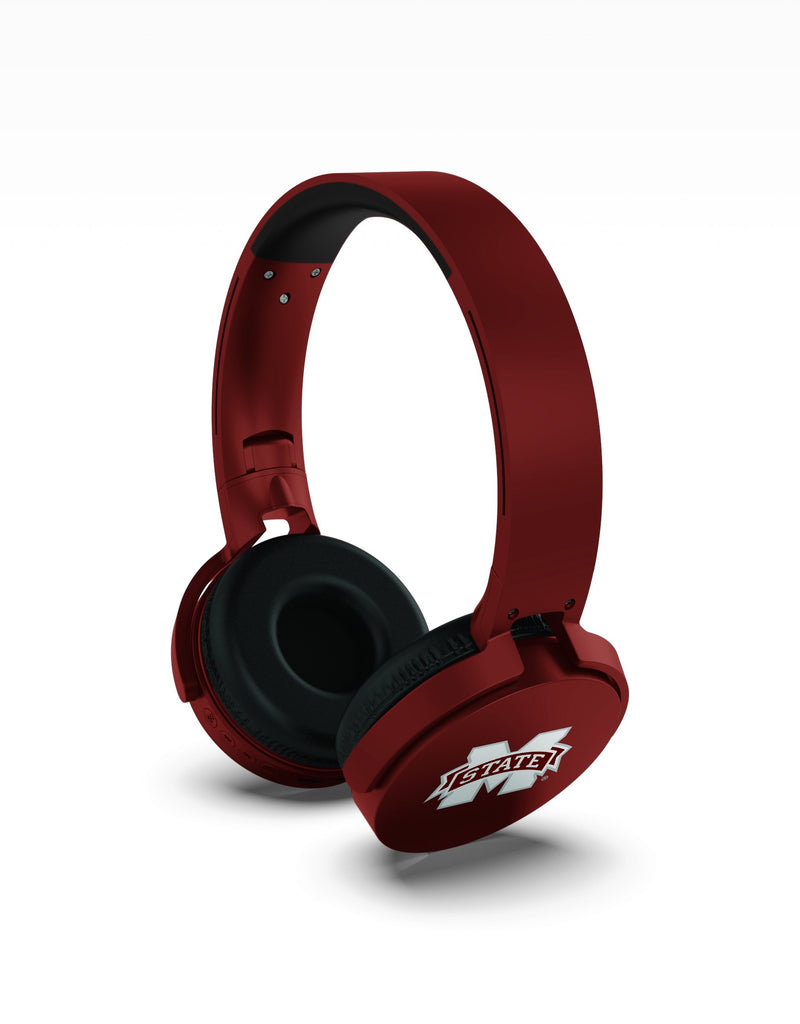 Mississippi State Bulldogs Wireless DJ Headphones - Prime Brands Group