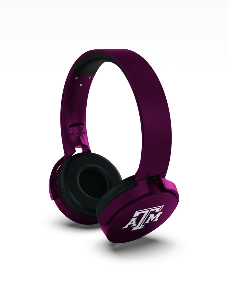 Texas A&M Aggies Wireless DJ Headphones - Prime Brands Group