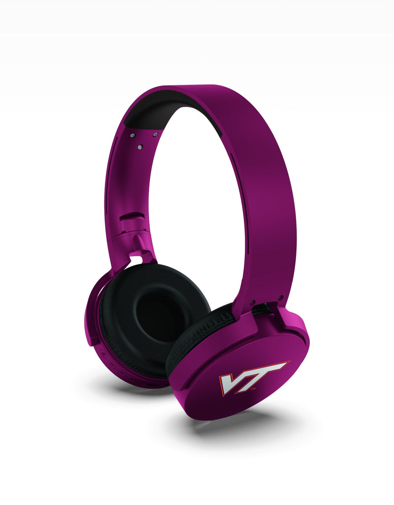 Illinois Tech Hokies Wireless DJ Headphones - Prime Brands Group