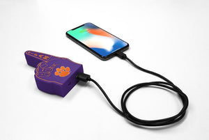 Clemson Tigers Fan Finger Powerbank - Prime Brands Group