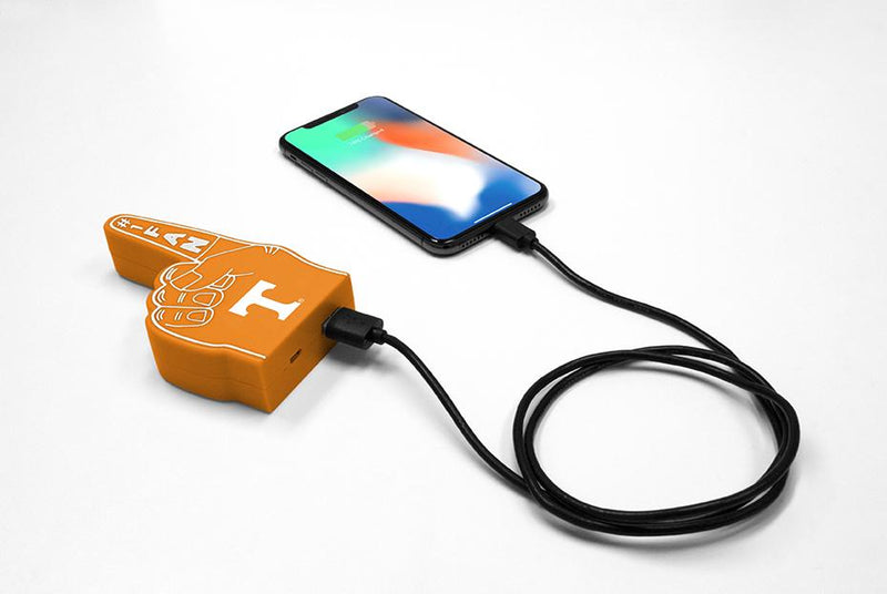 Tennessee Volunteers Fan Finger Powerbank - Prime Brands Group