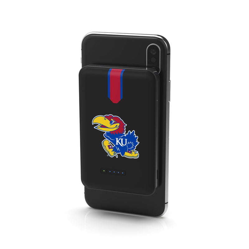 Kansas Jayhawks Wireless Charging Powerbank