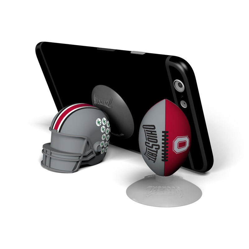 Ohio State Buckeyes  SUCKERZ Football/Helmet 2 Pack - Prime Brands Group