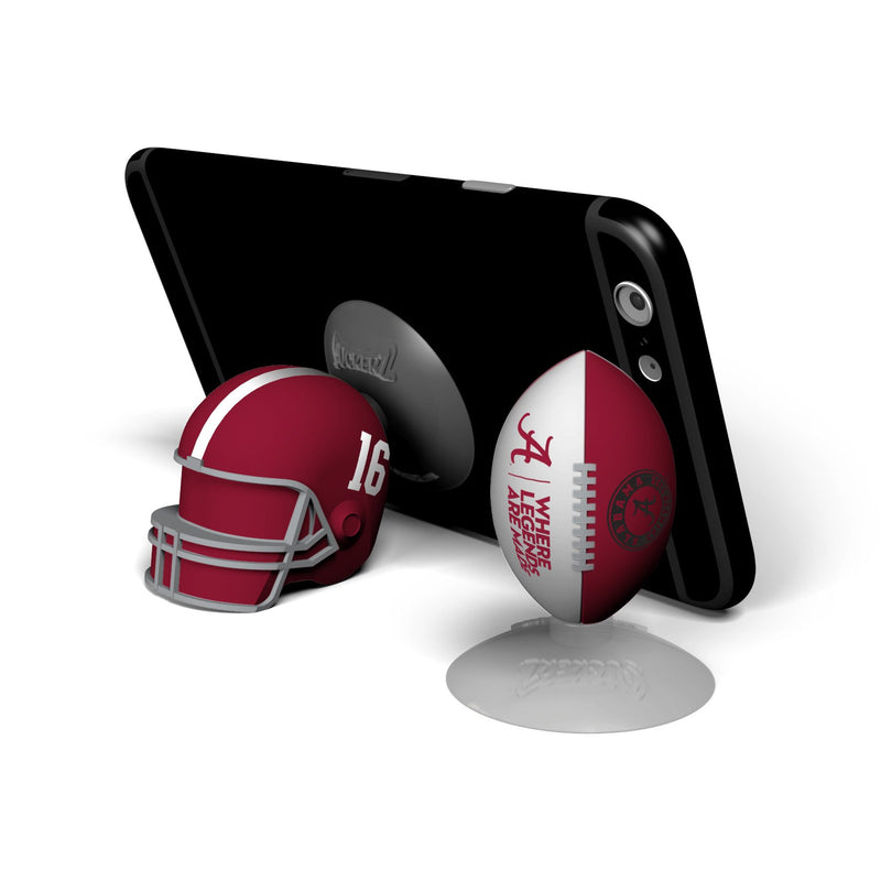 Alabama Crimson Tide  SUCKERZ Football/Helmet 2 Pack - Prime Brands Group