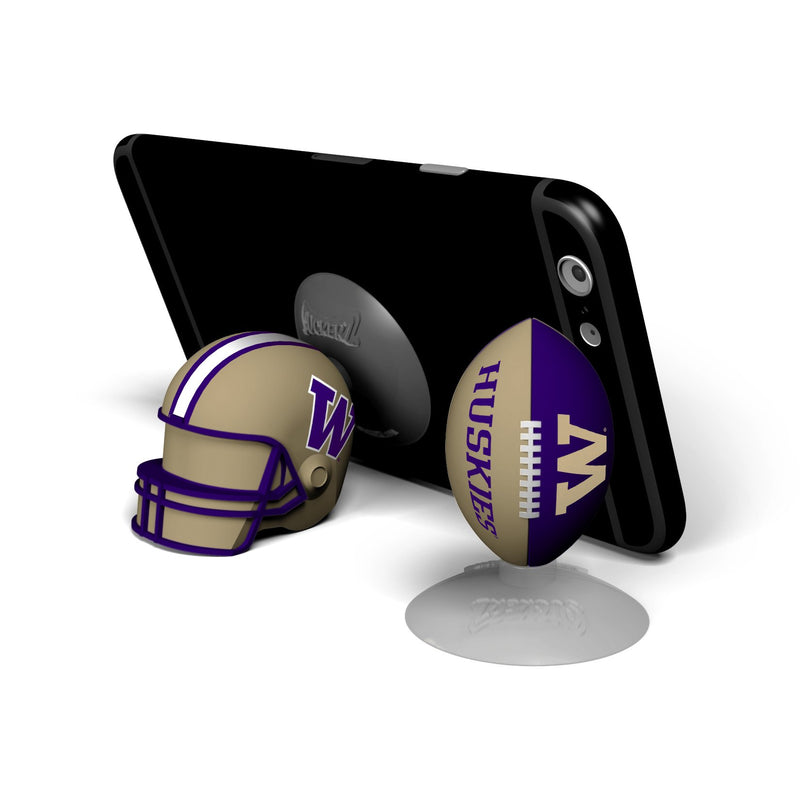 Washington Huskies  SUCKERZ Football/Helmet 2 Pack - Prime Brands Group