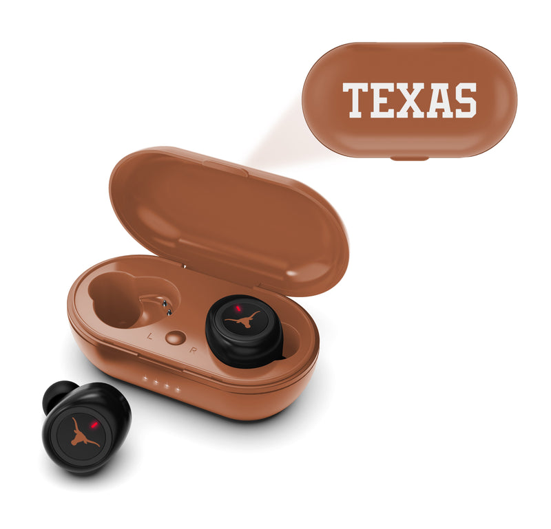 Texas Longhorns True Wireless Earbuds