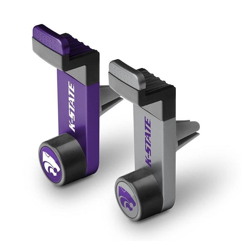 Kansas State Wildcats Car Mount 2 Pack - Prime Brands Group