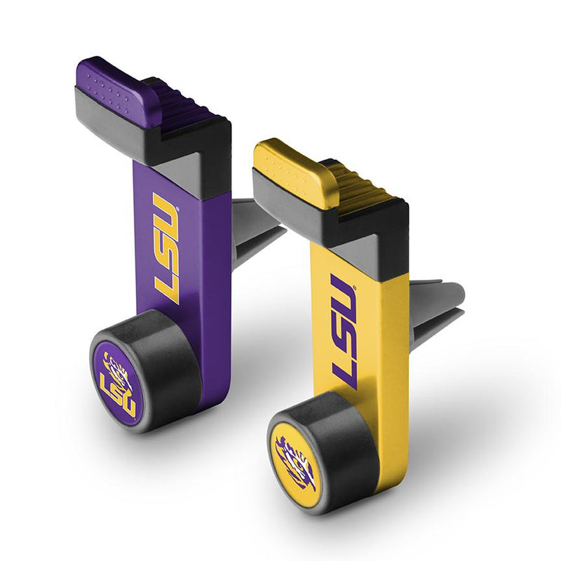 LSU Tigers Car Mount 2 Pack - Prime Brands Group