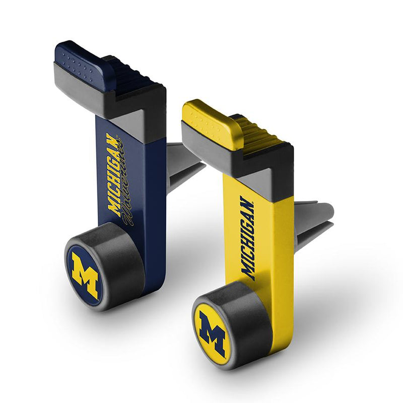 Michigan Wolverines Car Mount 2 Pack - Prime Brands Group
