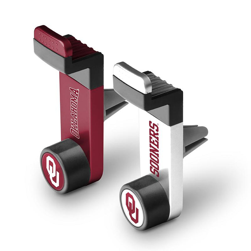 Oklahoma Sooners Car Mount 2 Pack - Prime Brands Group