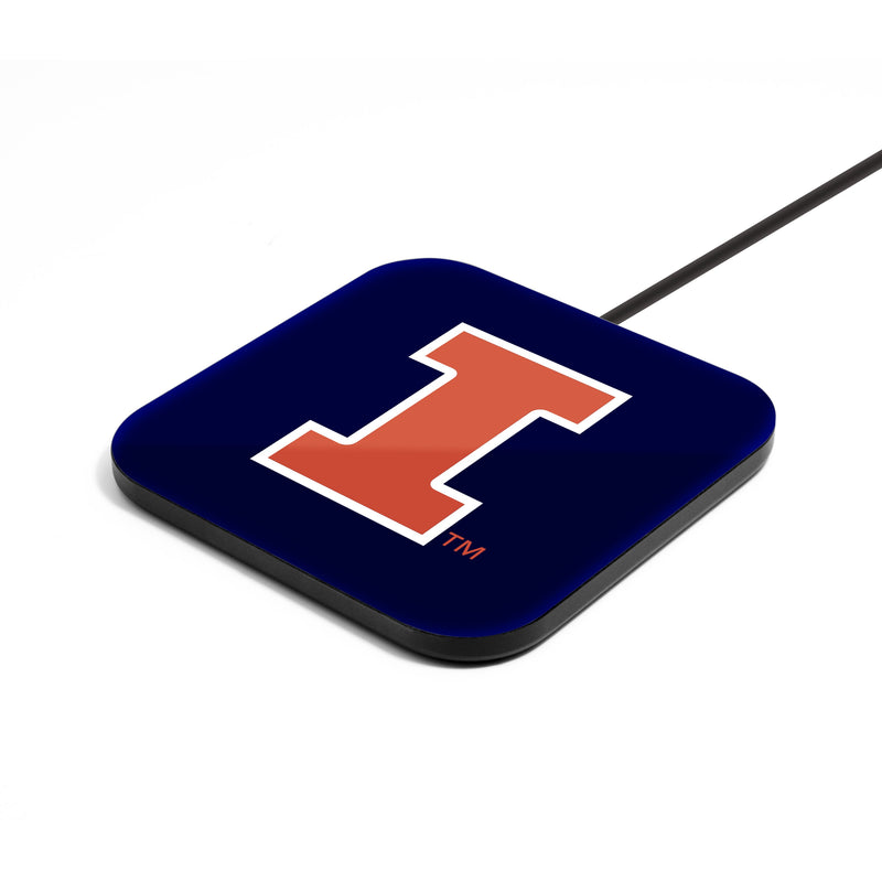 Illinois Fighting Illini Wireless Charging Pad - Prime Brands Group