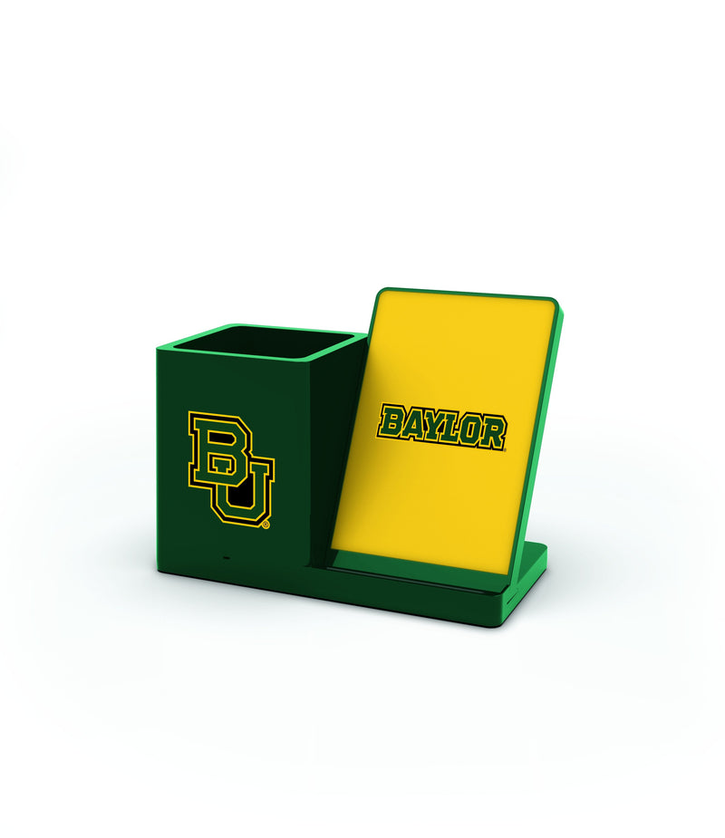 Baylor Bears Wireless Charging Pen Holder - Prime Brands Group