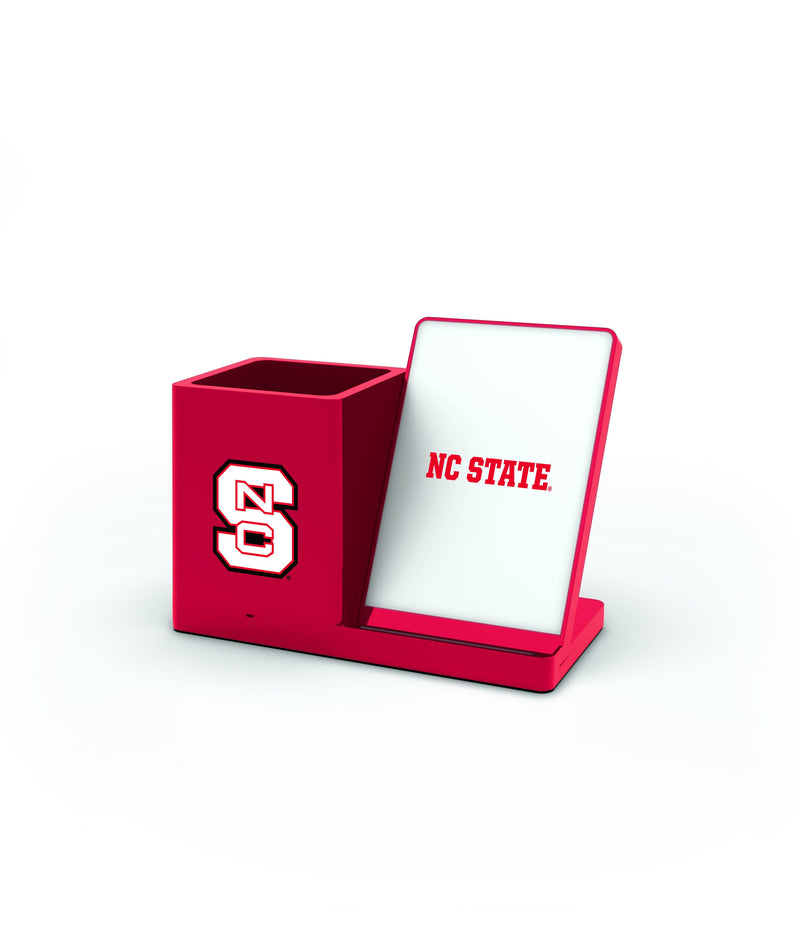 N.C State Wolfpack Wireless Charging Pen Holder - Prime Brands Group