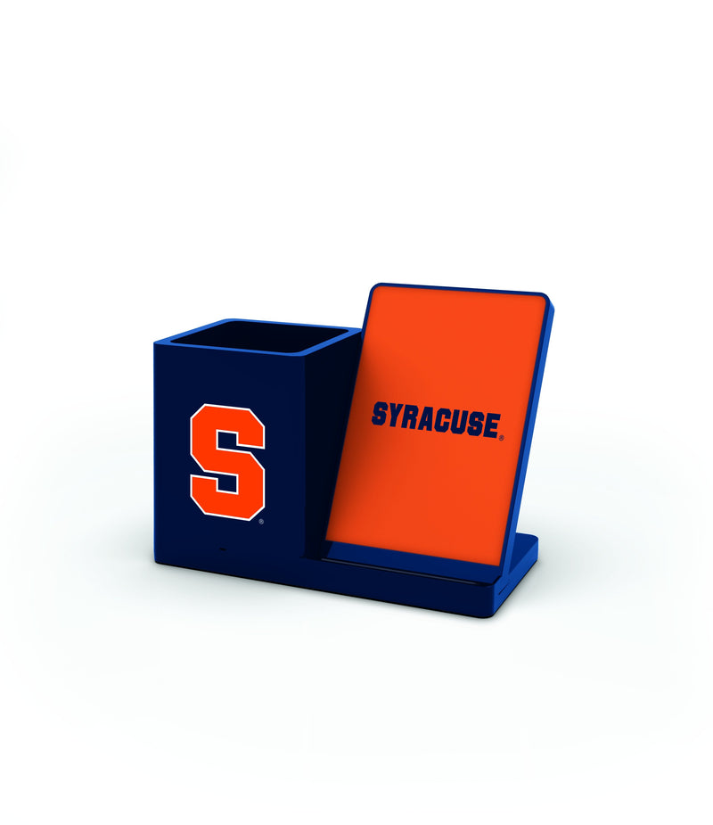 Syracuse Orangemen Wireless Charging Pen Holder - Prime Brands Group