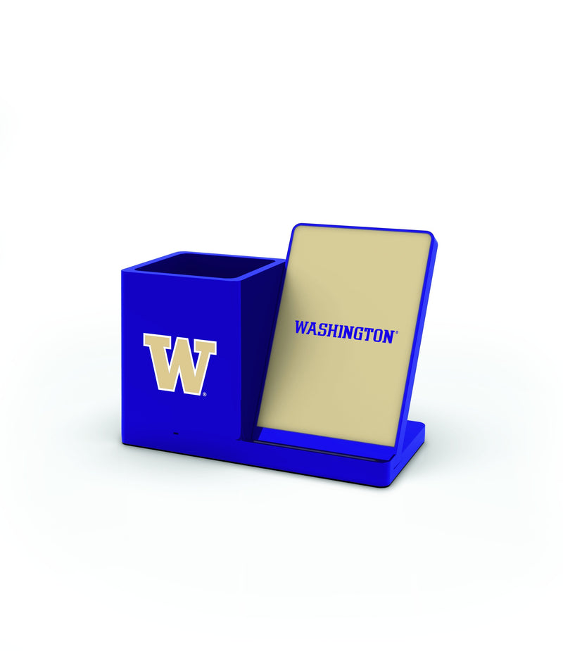 Washington Huskies Wireless Charging Pen Holder - Prime Brands Group