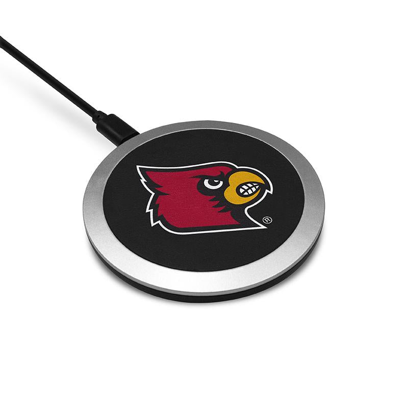 Louisville Cardinals Wireless Charging Pad - Prime Brands Group
