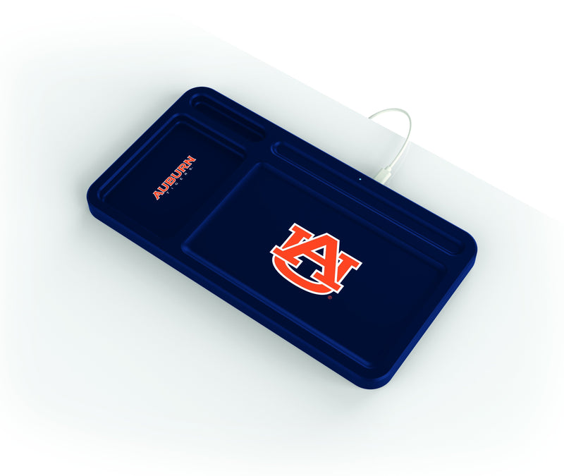 Auburn Tigers Wireless Charging Desk Valet - Prime Brands Group