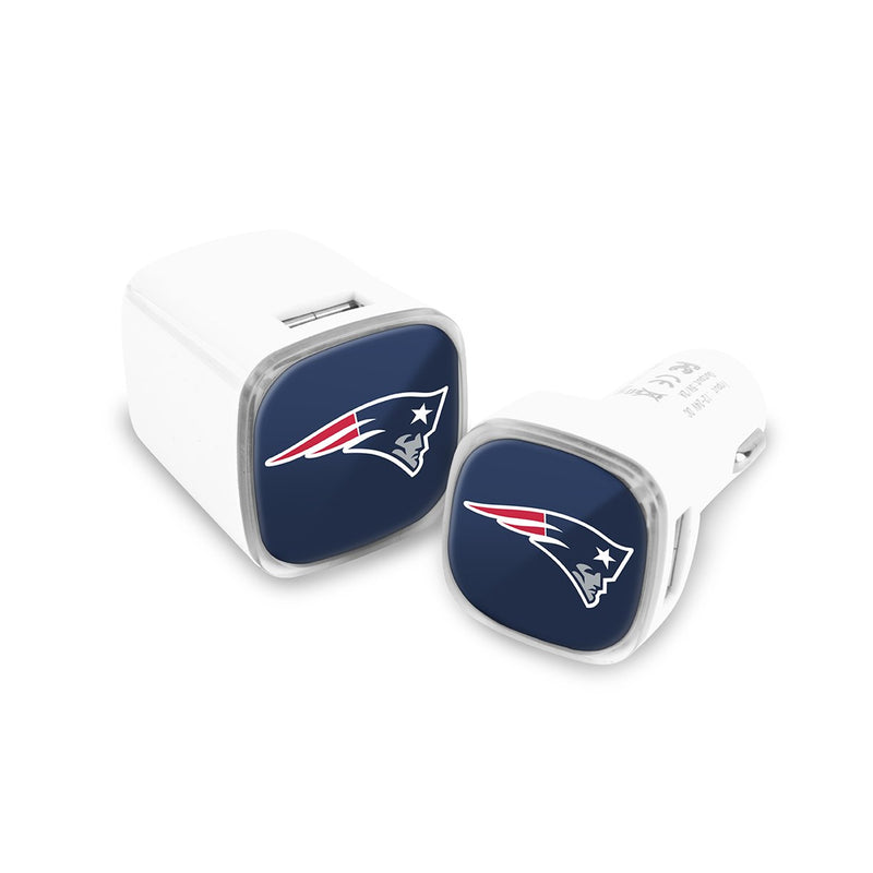 New England Patriots Car and Wall Chargers