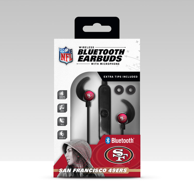 San Francisco 49ers Bluetooth Earbuds
