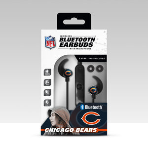 Chicago Bears Bluetooth Earbuds