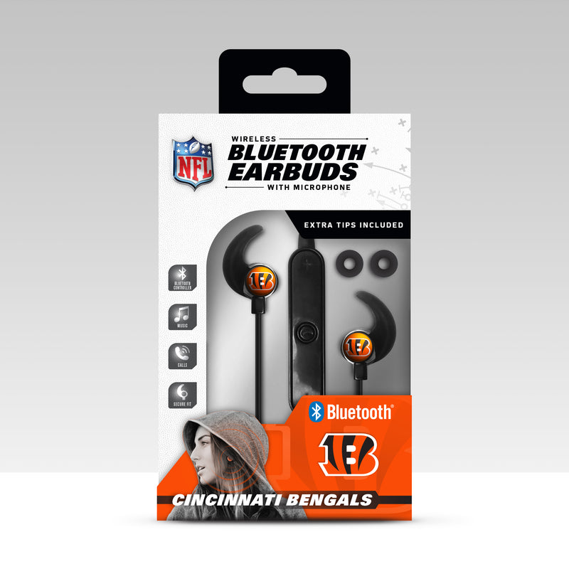 Cincinnati Bengals Bluetooth Earbuds - Prime Brands Group