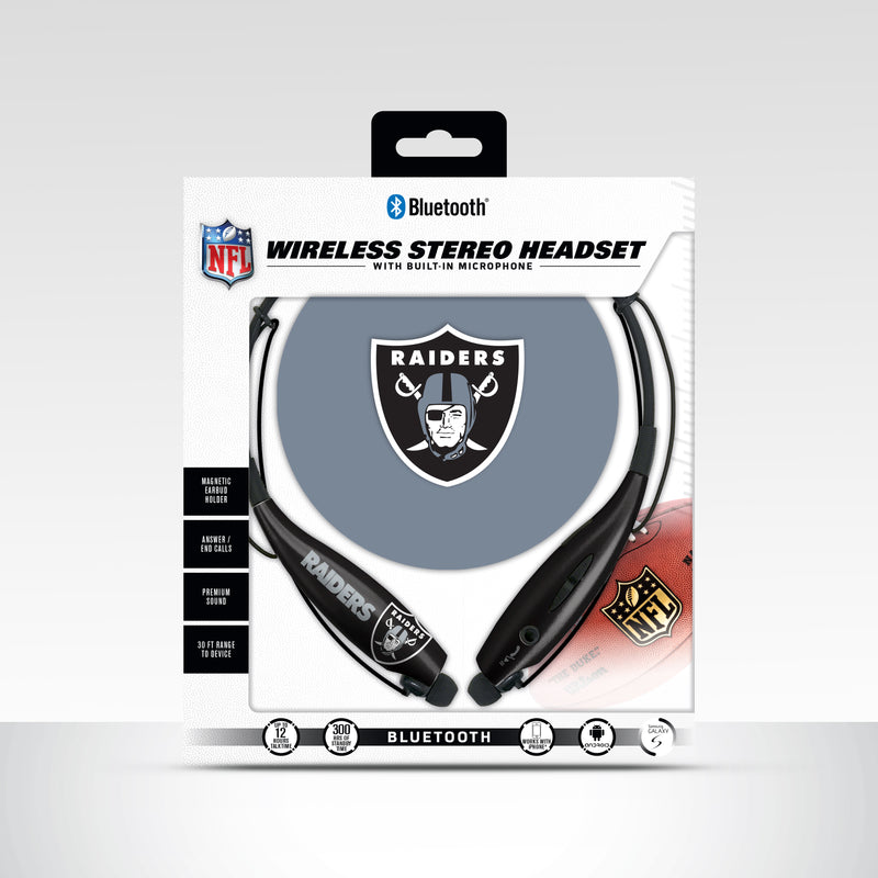 Oakland Raiders Bluetooth Neckband