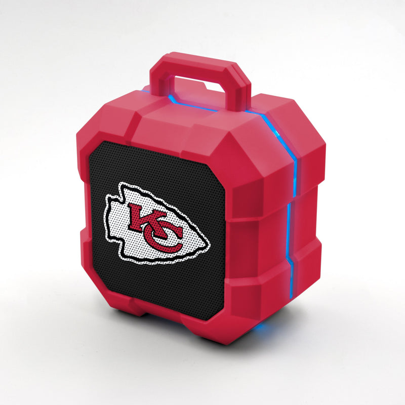 Kansas City Chiefs ShockBox LED Speaker - Prime Brands Group