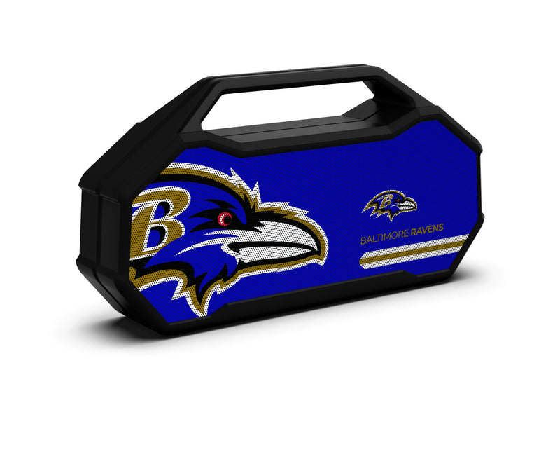 Baltimore Ravens Shockbox XL Speaker - Prime Brands Group