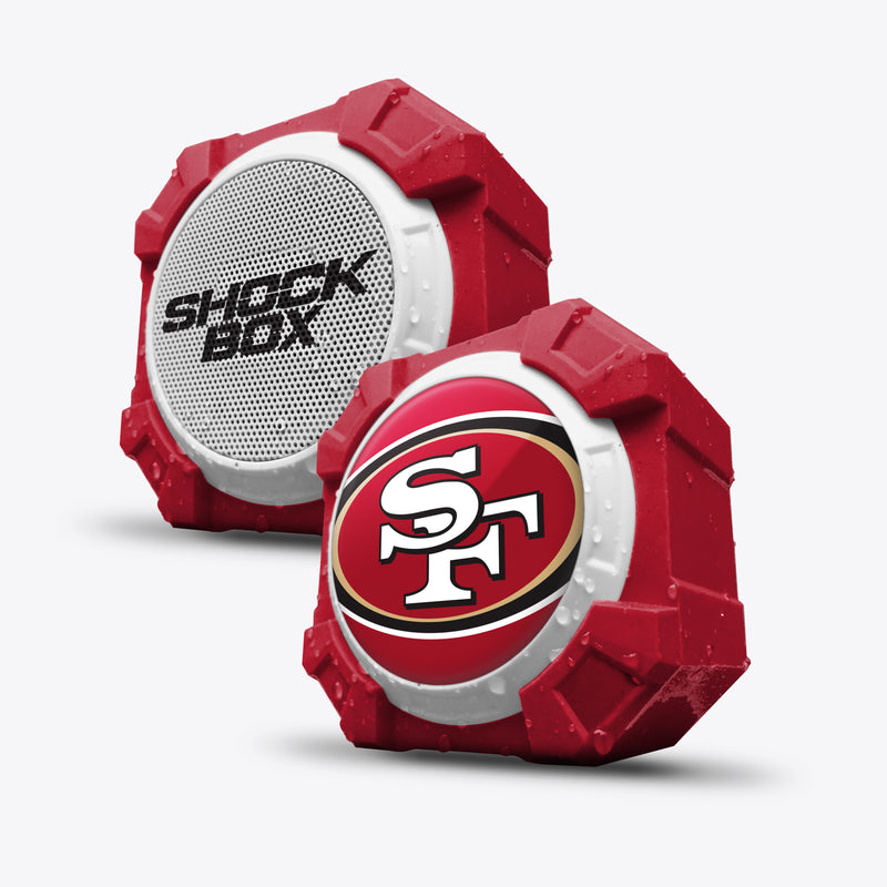 San Francisco 49ers ShockBox Bluetooth Speaker - Prime Brands Group