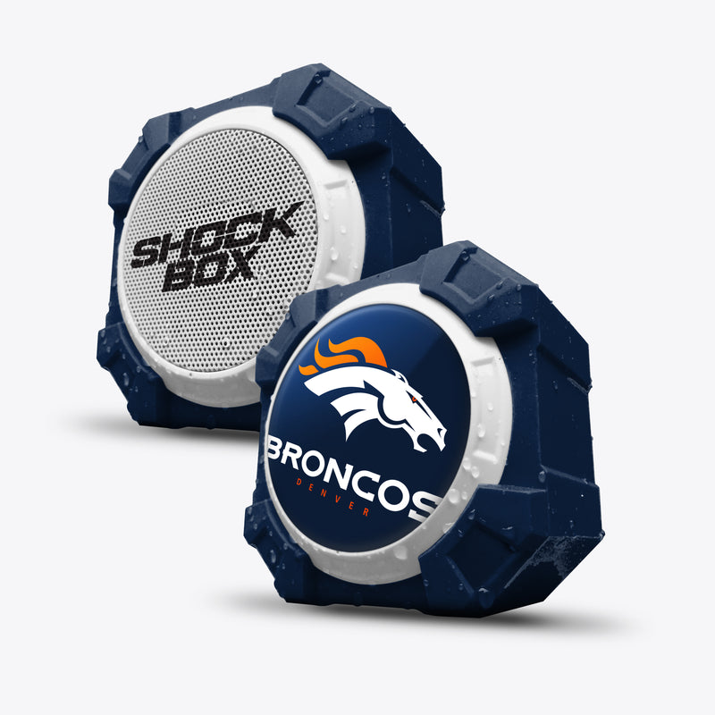 Denver Broncos ShockBox Bluetooth Speaker