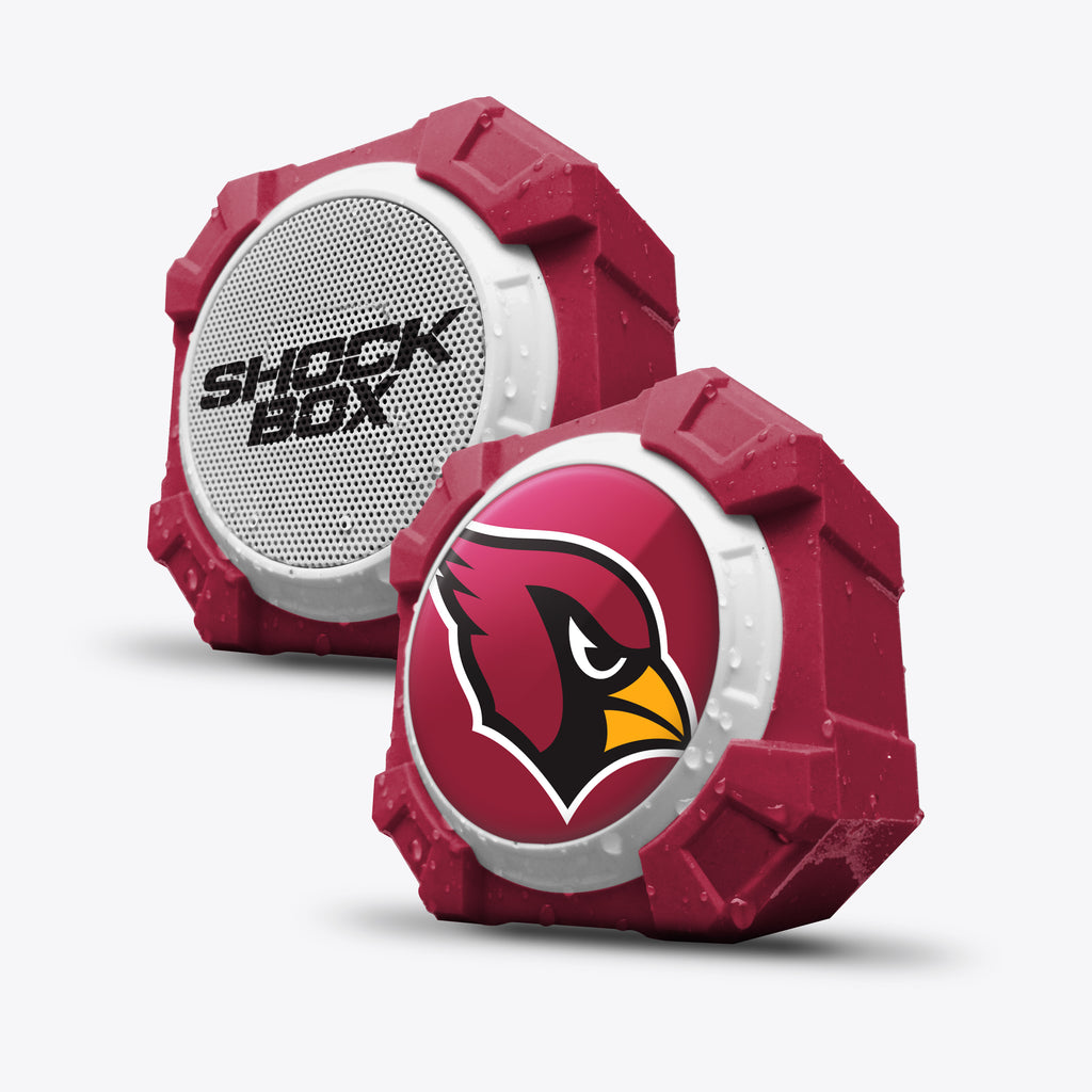 Arizona Cardinals ShockBox Bluetooth Speaker