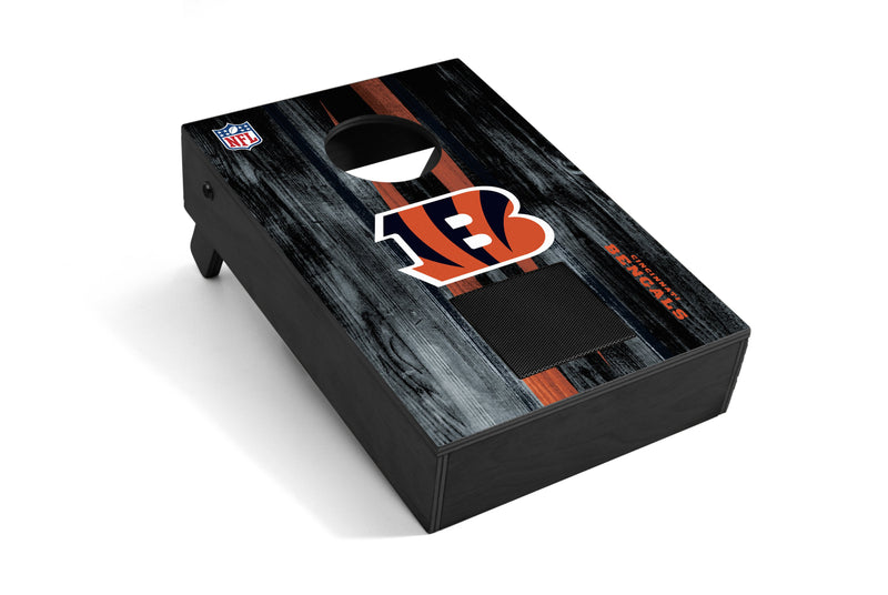 Cincinnati Bengals Bluetooth Speaker Cornhole Game