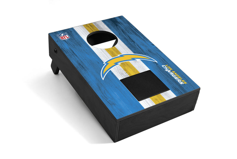 Los Angeles Chargers Bluetooth Speaker Cornhole Game
