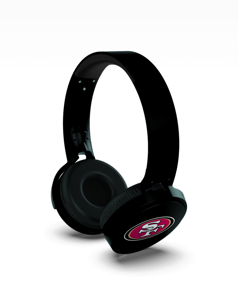 San Francisco 49ers Wireless DJ Headphones - Prime Brands Group