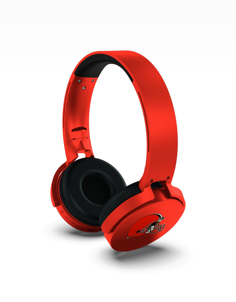 Cleveland Browns Wireless DJ Headphones - Prime Brands Group