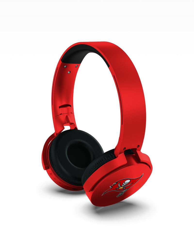 Tampa Bay Buccaneers Wireless DJ Headphones - Prime Brands Group