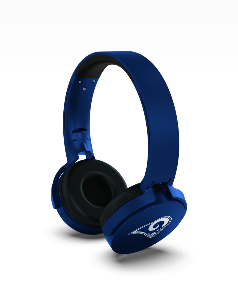 Los Angeles Rams Wireless DJ Headphones - Prime Brands Group