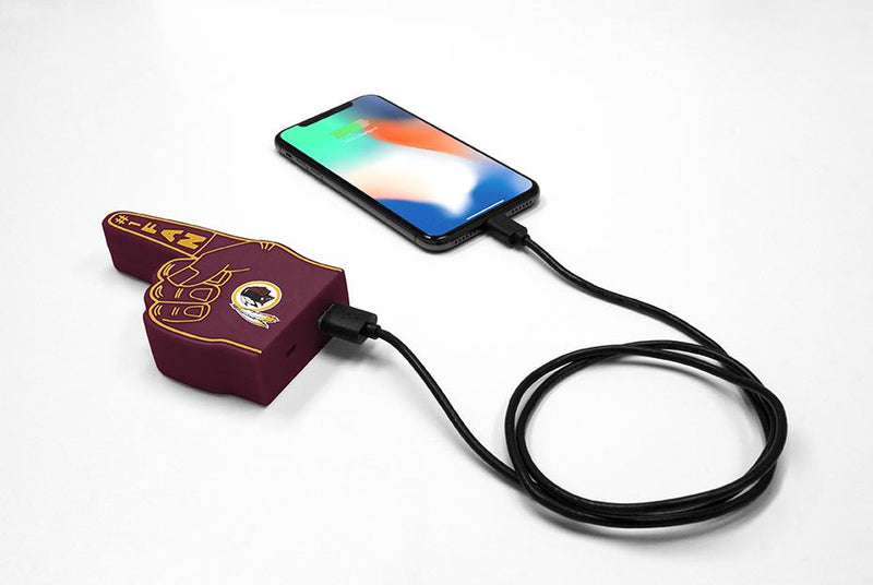 Washington Redskins Fan Finger Powerbank - Prime Brands Group