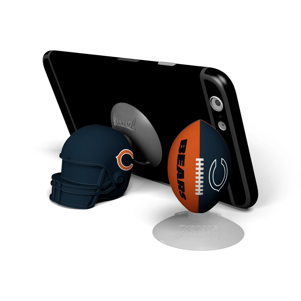 Chicago Bears 2-Pack Football & Helmet Suckerz - Prime Brands Group