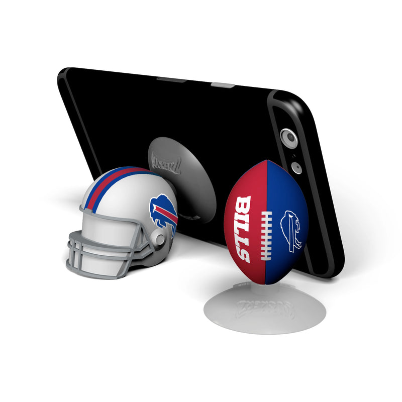 Buffalo Bills 2-Pack Football & Helmet Suckerz