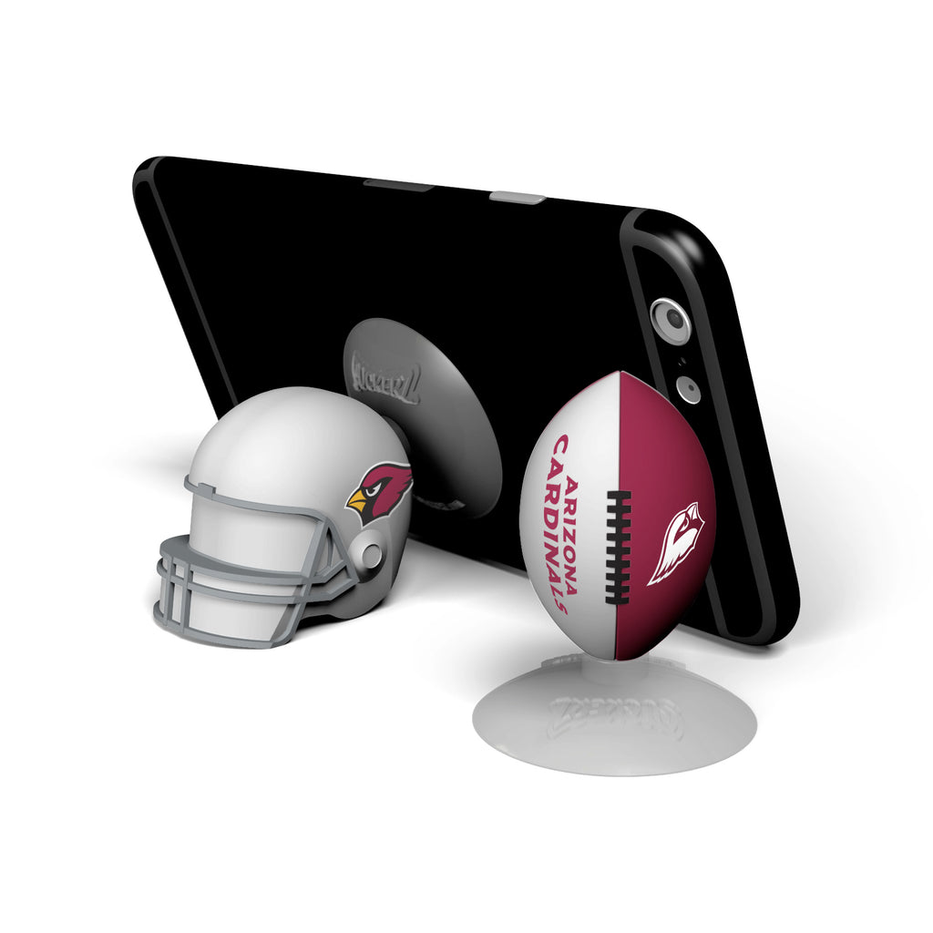 Arizona Cardinals 2-Pack Football & Helmet Suckerz - Prime Brands Group