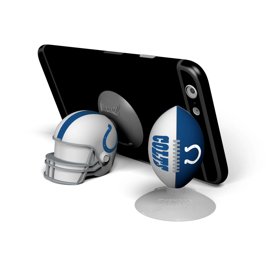 Indianapolis Colts 2-Pack Football & Helmet Suckerz - Prime Brands Group
