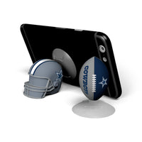 Dallas Cowboys 2-Pack Football & Helmet Suckerz