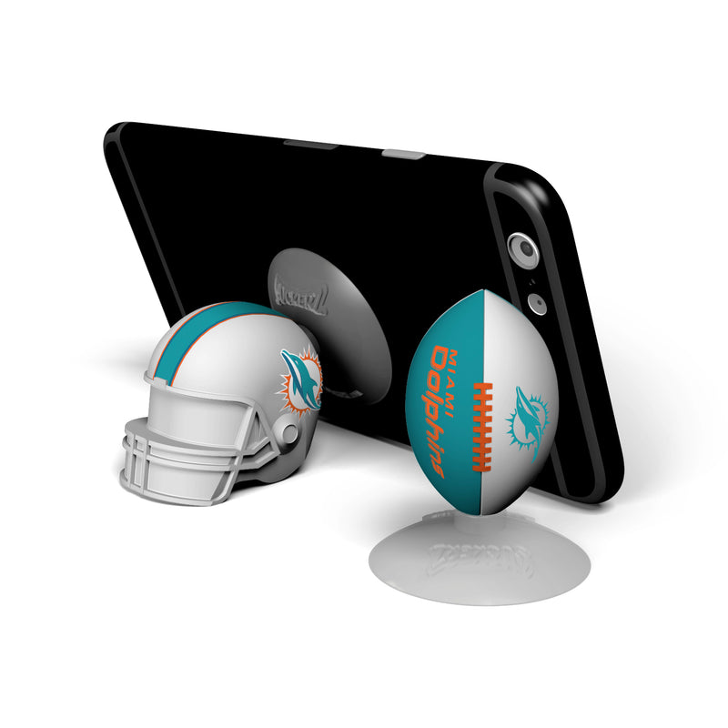 Miami Dolphins 2-Pack Football & Helmet Suckerz - Prime Brands Group
