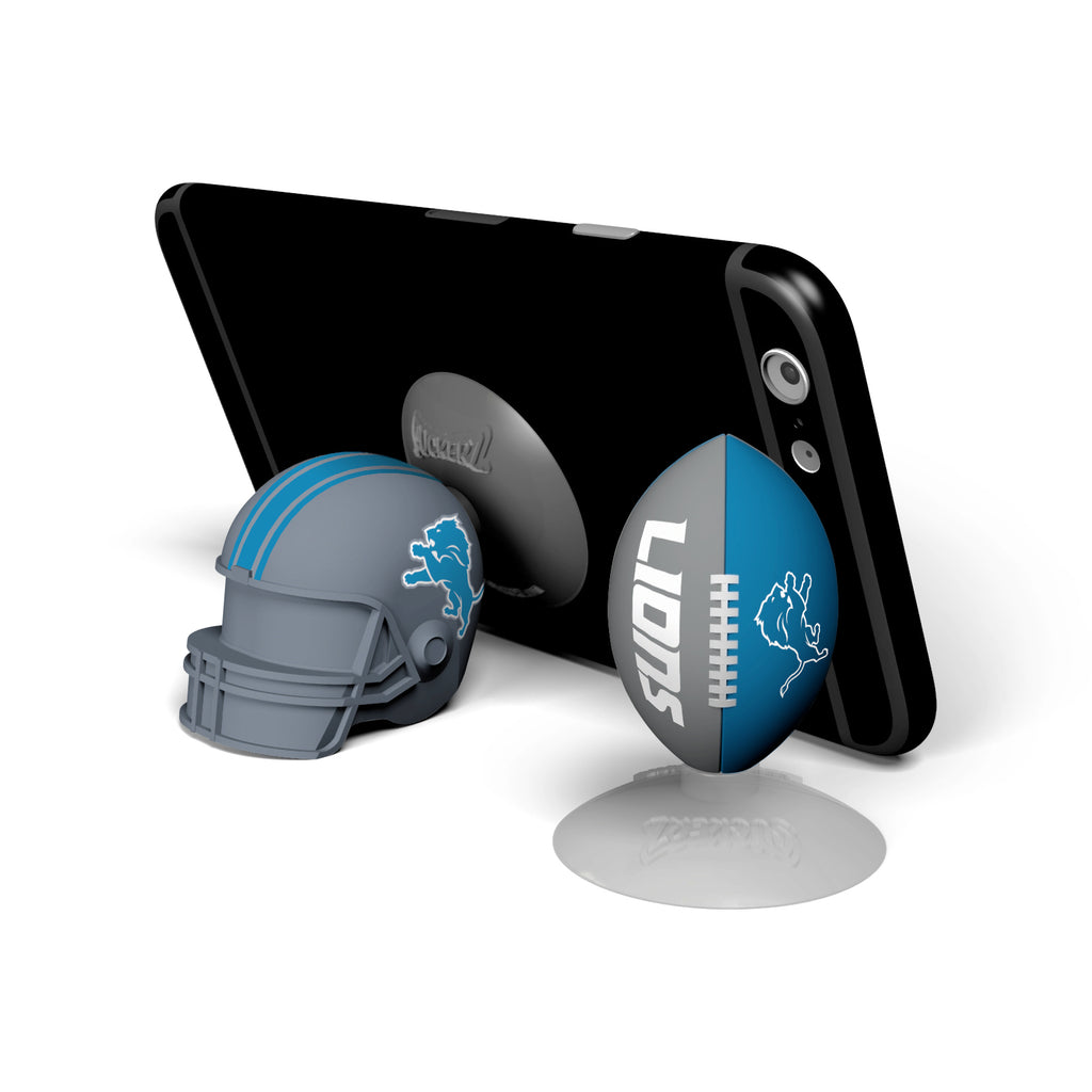 Detroit Lions 2-Pack Football & Helmet Suckerz - Prime Brands Group