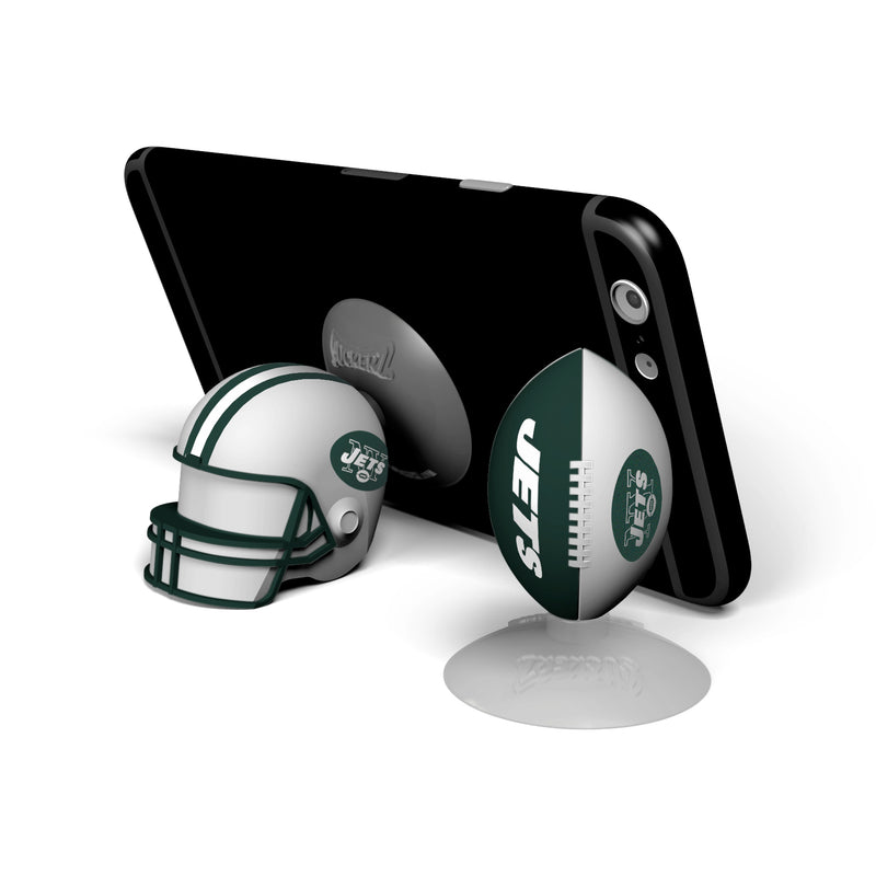 New York Jets 2-Pack Football & Helmet Suckerz