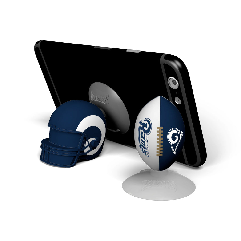 Los Angeles Rams 2-Pack Football & Helmet Suckerz - Prime Brands Group