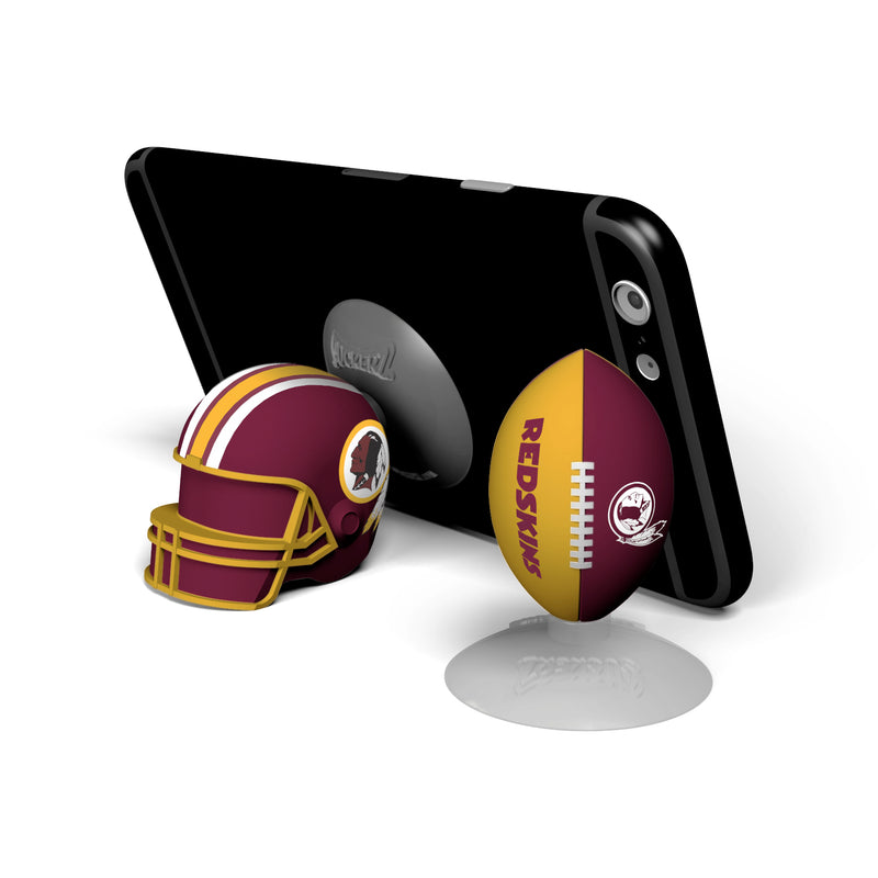 Washington Redskins 2-Pack Football & Helmet Suckerz