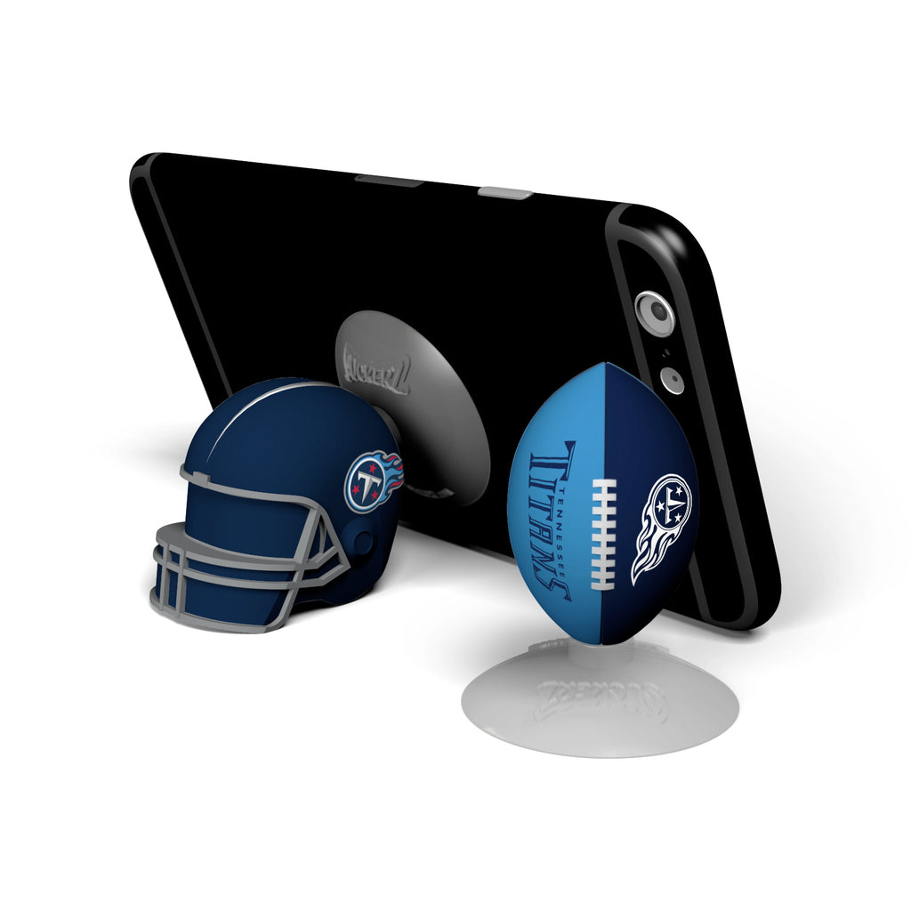 Tennessee Titans 2-Pack Football & Helmet Suckerz